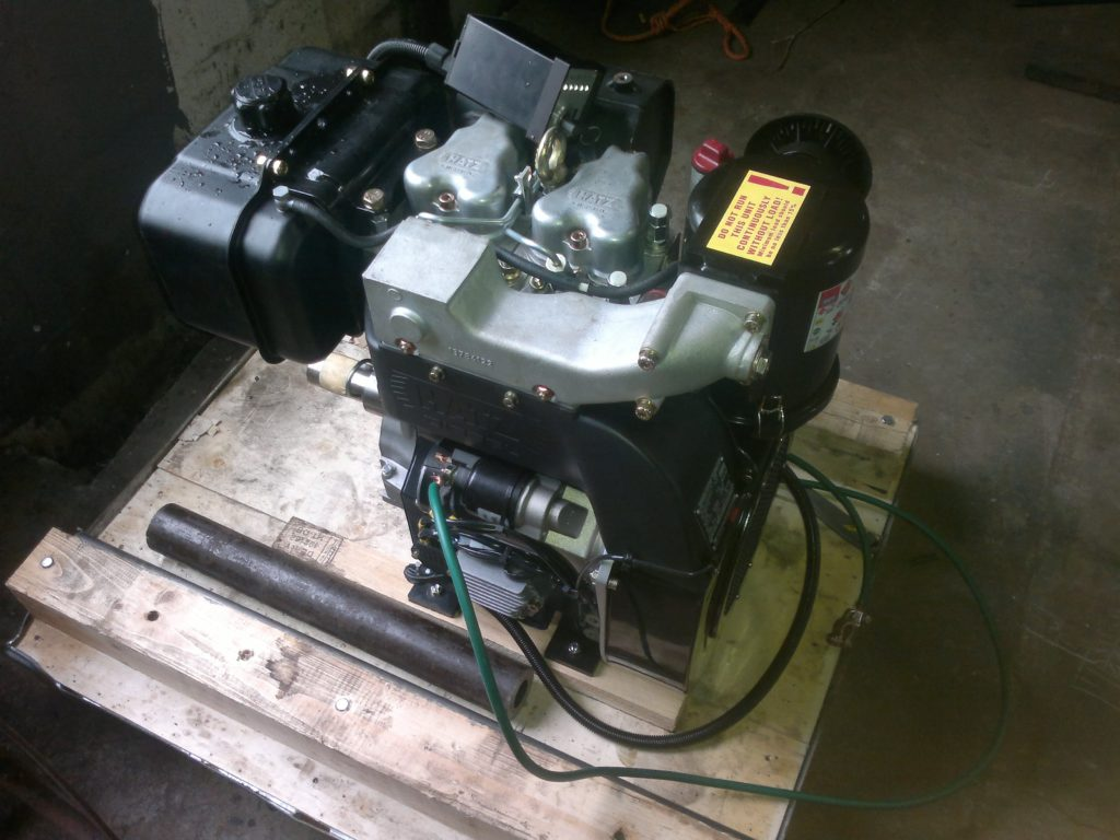 Diesel Engine for 4 inch Pumps